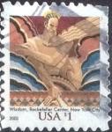Stamps of the world : United States :  Scott#3766 intercambio, 0,40 usd, 1 dolar 2003