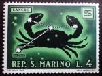 Stamps San Marino -  Zodiaco