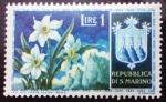 Sellos del Mundo : Europa : San_Marino : Flores