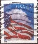 Sellos de America - Estados Unidos -  Scott#4235 intercambio, 0,25 usd, 42 cents. 2008