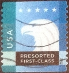 Sellos de America - Estados Unidos -  Scott#4586 intercambio, 0,25 usd, first class. 2012