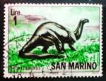 Sellos del Mundo : Europa : San_Marino : Animales prehistoricos