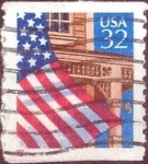 Stamps United States -  Scott#2913 intercambio, 0,20 usd, 32 cents. 1995