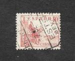 Stamps : Europe : Spain :  Edf 917 - El Cid