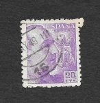 Stamps : Europe : Spain :  Edf 1047 - Francisco Franco Bahamonde