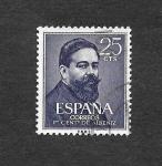 Sellos del Mundo : Europa : España : Edf 1320 - I Centenario del Nacimiento de Isaac Albéniz