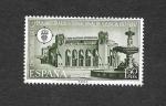 Stamps Spain -  L Aniversario de la Feria Muestrario Internacional de Valencia