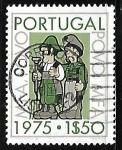Sellos de Europa - Portugal -  Beweging van de Strijdkrachte