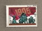 Stamps Europe - Russia -  Revolución de 1905