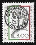 Stamps Portugal -  Democracia