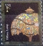 Stamps United States -  Scott#3758 intercambio, 0,20 usd, 1 cents. 2008