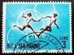 Stamps Oceania - San Marino -  Juegos Olímpicos. Voor