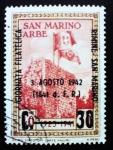 Sellos del Mundo : Europa : San_Marino : Exposición internacional filatélica de Rimini