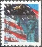 Sellos de America - Estados Unidos -  Scott#3973 intercambio, 0,20 usd, first class. 2006
