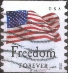 Sellos de America - Estados Unidos -  Scott#4631 intercambio, 0,25 usd, forever 2012
