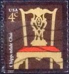 Sellos del Mundo : America : Estados_Unidos : Scott#3761 intercambio, 0,20 usd, 4 cents. 2007