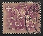 Sellos de Europa - Portugal -  Guerrero a caballo