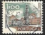 Sellos de Europa - Portugal -  Torre dos Clerigos - Porto