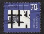 Stamps : Europe : Germany :  Conmemoración de Amnistía Internacional
