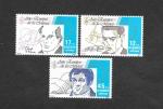 Stamps Spain -  Edf 2803-2805 - Año Europeo de la Música
