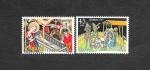 Stamps : Europe : Spain :  Edifil 2818-2819 - Navidad