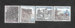 Stamps : Europe : Spain :  Edifil 2900 a 2903 - Turismo