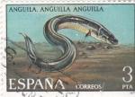Sellos de Europa - España -  ANGUILA (33)