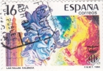 Stamps Spain -  LAS FALLAS DE VALENCIA (33)
