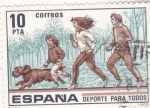 Sellos de Europa - España -  DEPORTE PARA TODOS (33)