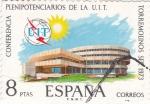 Sellos de Europa - España -  CONFERENCIA PLENIPOTENCIARIOS DE LA U.I.T. (33)
