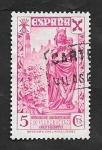 Stamps Spain -  21 - Historia del Correo, Organización Benéfica de Orfanato
