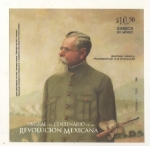 Stamps : America : Mexico :  Venustiano Carranza proclamación del plan de Guadalupe.