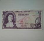 monedas de America - Colombia -  1977 - 2 pesos