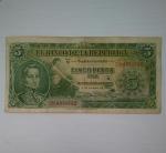 monedas de America - Colombia -  1953 - 5 pesos