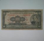 monedas de America - Colombia -  1958 - 100 pesos