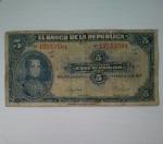 monedas de America - Colombia -  1947 - 5 pesos