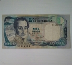 monedas de America - Colombia -  1995 - 1000 pesos