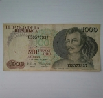 monedas de America - Colombia -  1979 - 1000 pesos