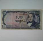 monedas de America - Colombia -  1974 - 100 pesos