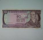 monedas de America - Colombia -  1985 - 50 pesos