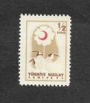 Stamps Turkey -  Media Luna Roja