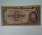 monedas de America - Colombia -  1963 - 10 pesos