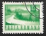 Sellos de Europa - Rumania -  Carreteras | Paisajes