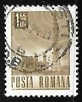 Stamps Romania -  Torre de Telecomunicaciones