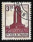 Sellos de Europa - Rumania -  Bucharest - Monumento a los héroes