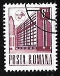 Sellos de Europa - Rumania -  Oficinas de Correos - Bucharest