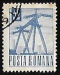 Sellos de Europa - Rumania -  Torres electricas