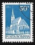 Sellos de Europa - Rumania -  Dej church