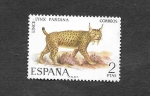 Stamps : Europe : Spain :  Edf 2037 - Lince