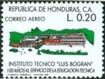 Stamps : America : Honduras :  Luis Bogran Technical Institute, Cent.
